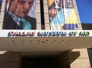 Main entrance to the DMA